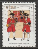 Ireland 1995 Military Uniforms 28 P Multicoloured SW 907 O Used - 1949-... Republiek Ierland