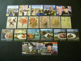 Guernsey 2005 Commemorative/special Issues (SG 1060-1070, 1072-1084, Ms1085, 1086-1095) 2 Images - Used - Guernsey