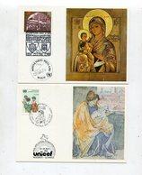 Off. Kunstkarten Der Unicef / 10 Schoene Karten (30045-60) - Briefmarken