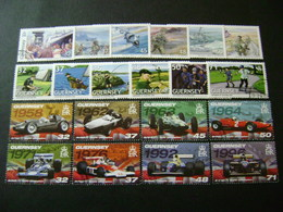 Guernsey 2007 Commemorative/special Issues (SG 1142-1147, 1159-1172, Ms1173, 1174-1197) 3 Images - Used - Guernsey