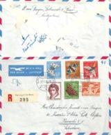 Luftpost R Brief  Spiegel B.Bern - Karachi Pakistan          1956 - Switzerland