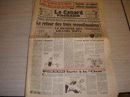 CANARD ENCHAINE 4453 01.03.2006 Jean Luc HENNIG Grisélidis REAL JP PERNAULT BOSSO - Politique