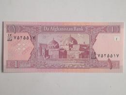 Billete Afganistan. 1 Afgani. 2002. Original. Sin Circular - Afghanistan