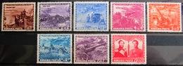 ROUMANIE                   N° 751/758                   NEUF* - 1918-1948 Ferdinand, Charles II & Michael