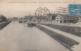 59 - LILLE - Canteleu Lez Lille - Le Canal - Route De La Planche à Quesnoy - Lille