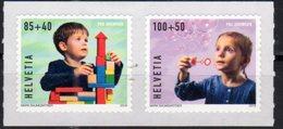 SWITZERLAND, 2018, MNH,CHILDREN, YOUTH STAMPS, 2v - Enfance & Jeunesse