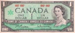 Canada 1 Dollar, P-84a (1967) - UNC - Canada