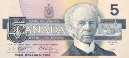 Canada 5 Dollars, P-95c (1986) - UNC - Canada