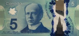 Canada 5 Dollars, P-106c - UNC - Canada