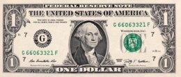 USA 1 Dollar, P-530 (2009) - G/Chicago Issue - UNC - Billets De La Federal Reserve (1928-...)