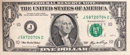USA 1 Dollar, P-530 (2009) - J/Kansas City Issue - UNC - Billets De La Federal Reserve (1928-...)