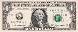 USA 1 Dollar, P-530 (2009) - K/Dallas Issue - UNC - Federal Reserve (1928-...)