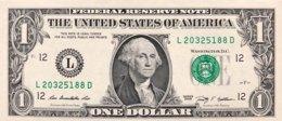 USA 1 Dollar, P-530 (2009) - L/San Francisco Issue - UNC - Billets De La Federal Reserve (1928-...)