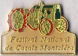 Festival National De Cazals Montcléra (Restauration Et Présentation De Tracteurs Et Mécaniques Anciennes) - Badges