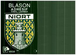 NIORT - Blason Adhésif - Niort
