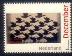 Nederland  2018 M.C. ESCHER 1898-1972    VIS OF VOGEL FISH OR BIRD  ART       Postfris/mnh/neuf - Period 1980-... (Beatrix)
