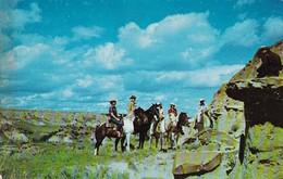 South Dakota Badlands Horseback Riders South Theodore Roosevelt National Memorial Park - Verenigde Staten