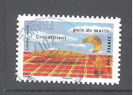 France Autoadhésif Oblitéré N°1456 (Le Goût - Pain) (cachet Rond) - France