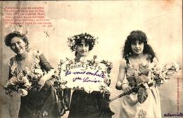 Bergeret 217 Bonne Fête 3 Femmes - Bergeret