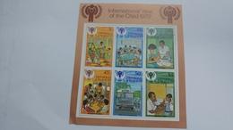 Trinidad & Tobago-international Year Of The Child 1979-(block 6 Stamps)-mint - Trinité & Tobago (1962-...)