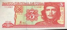 Cuba 3 Pesos, P-127 (2004) - UNC - Cuba