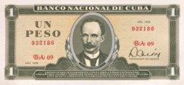 Cuba 1 Peso, P-102b (1979) - UNC - Cuba