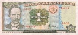 Cuba 1 Peso, P-112 (1995) - UNC - Kuba