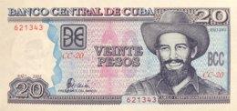 Cuba 20 Pesos, P-118c (2001) - UNC - Cuba