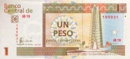 Cuba 1 Peso Convertible, P-FX46 (2006) - UNC - Cuba