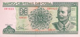Cuba 5 Pesos, P-116m (2012) - UNC - Kuba