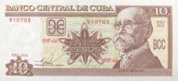 Cuba 10 Pesos, P-117p (2014) - UNC - Cuba