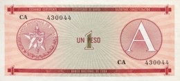 Cuba 1 Peso, P-FX1 (1985) - UNC - Kuba
