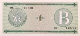 Cuba 1 Peso, P-FX6 (1985) - UNC - Cuba