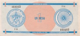 Cuba 1 Peso, P-FX11 - UNC - Cuba