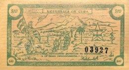 Cuba 10 Pesos, P-NL Fidel Castro Guerilla Money - UNC - Cuba