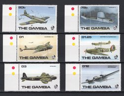 GAMBIA - 1990 R.A.F. Aircraft Of Second World War  M452 - Gambia (1965-...)