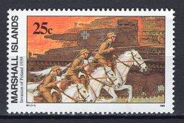 MARSHALL ISLANDS - 1989 History Of The Second World War - Invasion Of Poland, 1939  M454 - Marshall