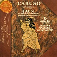 CARUSO. Faust & Autres Airs D'Opéra. 16 Titres. 1 Cd. RCA-Victor. 1992. - Classique