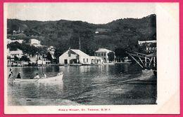 Cpa - Antilles - King's Wharf - St Thomas - D.W.I. - Saint Thomas - Animée - Antilles Neérlandaises