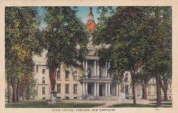 New Hampshire Concord State Capitol Building 1939 - Concord