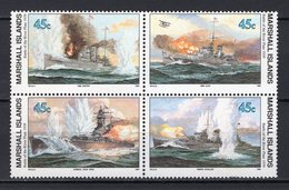MARSHALL ISLANDS - 1989 History Of The Second World War - Battle Of The River Plate, 1939  M457 - Marshall