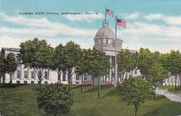 Alabama Montgomery State Capitol Building 1945 - Montgomery
