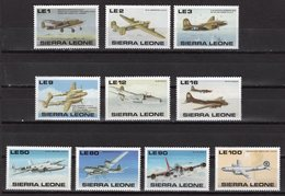 SIERRA LEONE - 1990 The 50th Anniversary Of Second World War - American Aircraft  M460 - Sierra Leone (1961-...)