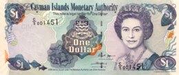 Cayman Islands 1 Dollar, P-33b (2006) - UNC - Kaimaninseln