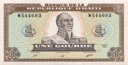 Haiti 1 Gourde, P-253a (1989) - UNC - Haïti