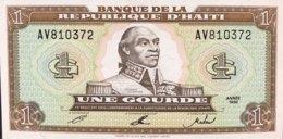 Haiti 1 Gourde, P-259a (1992) - UNC - Haïti