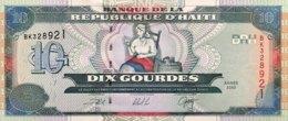 Haiti 10 Gourdes, P-265a (2000) - UNC - Haïti