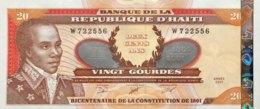 Haiti 250 Gourdes, P-271A (2001) - UNC - Haïti