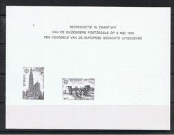 Belgie OCB ZNP 11 - Black-and-white Panes