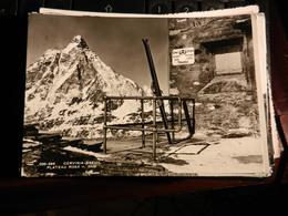 19814) CERVINIA BREUIL PLATEAU ROSA VALTOURNANCHE CONFINE THEODUL VIAGGIATA 1961 - Italia